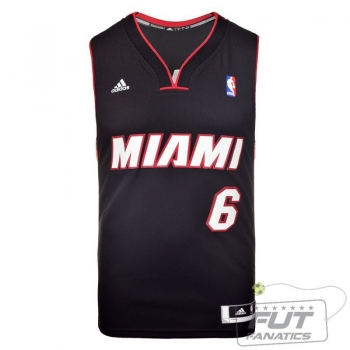 Regata Adidas NBA Miami Heat Swingman James