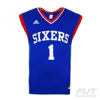 Regata Adidas NBA Philadelphia 76ers Road 2015 1 Carter-Williams