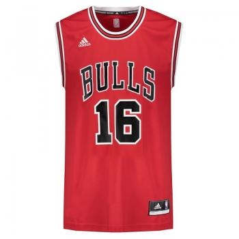Regata Adidas NBA Chicago Bulls Road 2016 16 Gasol