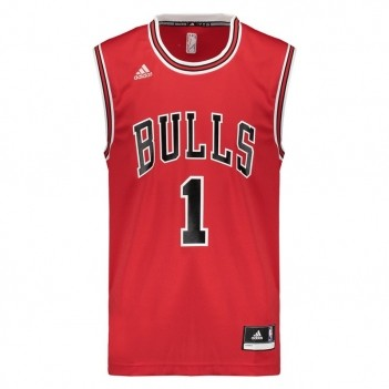 Regata Adidas NBA Chicago Bulls Road 2016 1 Rose