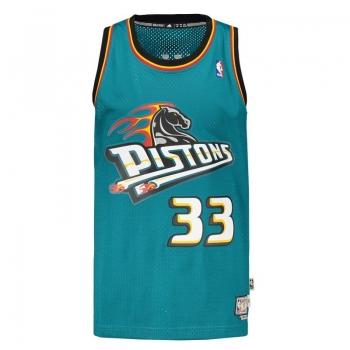 Regata Adidas NBA Detroit Pistons 33 Hill Retired