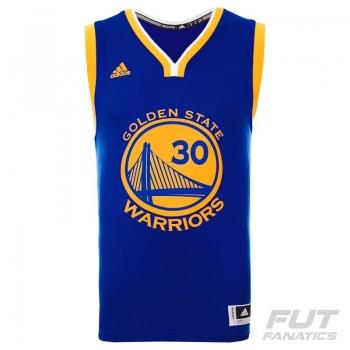 Regata Adidas NBA Golden State Warriors Road 2016 30 Curry Swingman