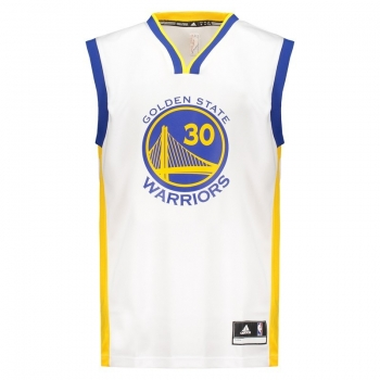 Regata Adidas NBA Golden State Warriors Home 2015 30 Curry