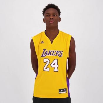 Regata Adidas NBA LA Lakers Home 2015 24 Bryant