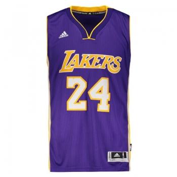 Regata Adidas NBA LA Lakers Road 2015 24 Bryant Swingman