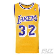 Regata Adidas NBA LA Lakers Home 32 Johnson Retired