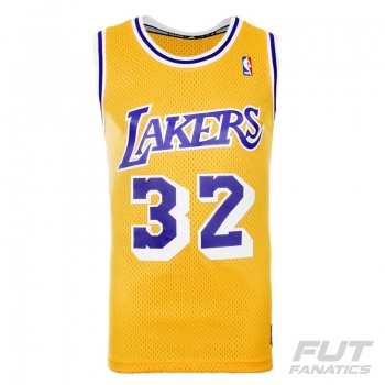 Regata Adidas NBA LA Lakers Home 32 Johnson Retired