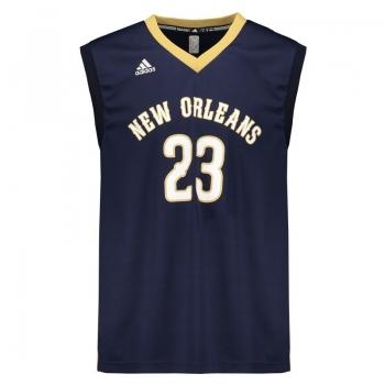 Regata Adidas NBA New Orleans Pelicans Road 2016 23 Davis
