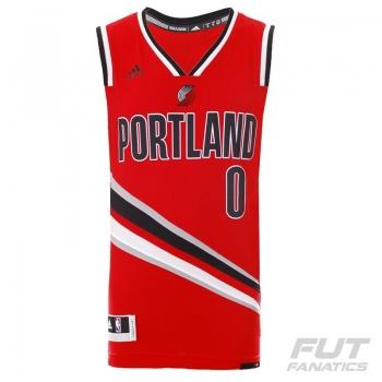 Regata Adidas NBA Portland Trail Blazers Third 2016 0 Lillard Swingman
