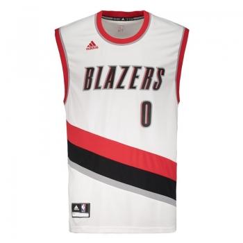 Regata Adidas NBA Portland Trail Blazers Home 2015 0 Lillard
