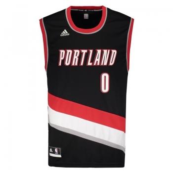 Regata Adidas NBA Portland Trail Blazers Road 2016 0 Lillard