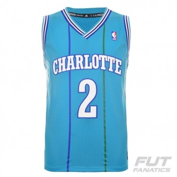 Regata Adidas NBA Charlotte Hornets 2 Johnson Retired