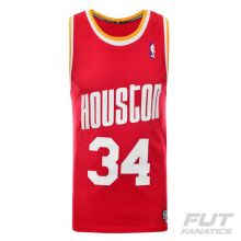 Regata Adidas NBA Houston Rockets 34 Olajuwon Retired