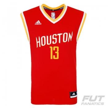 Regata Adidas NBA Houston Rockets Road 2015 13 Harden