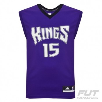 Regata Adidas NBA Sacramento Kings Road 2016 15 Cousins