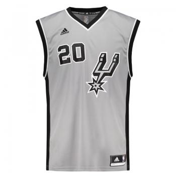 Regata Adidas NBA San Antonio Spurs Alternate 2015 20 Ginobili