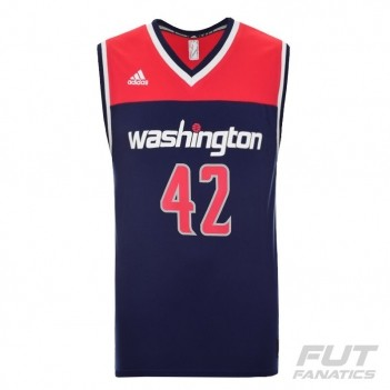 Regata Adidas NBA Washington Wizards Alternate 2016 42 Nenê