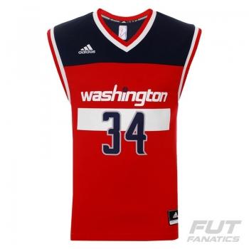 Regata Adidas NBA Washington Wizards Road 2015 34 Pierce