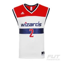 Regata Adidas NBA Washington Wizards Home 2015 2 Wall