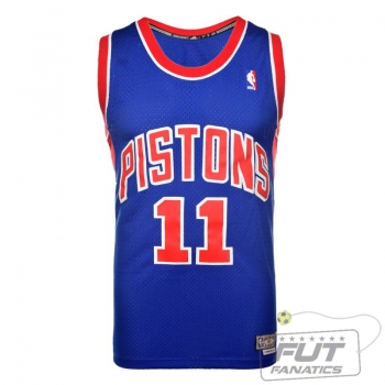 Regata Adidas NBA Detroit Pistons 11 Thomas Retired