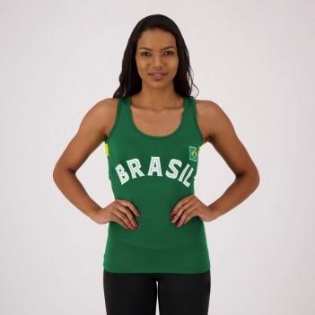 Regata Brasil Una Feminina Verde