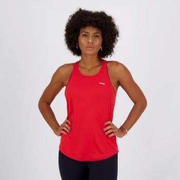 Regata Fila Basic Sports Feminina Vermelha