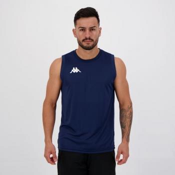 Regata Kappa Sport Azul Marinho