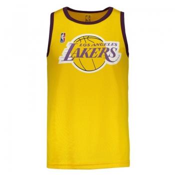 Regata Machão NBA Los Angeles Lakers Amarela