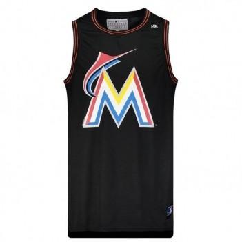 Regata New Era MLB Miami Marlins Preta