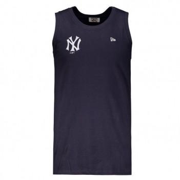 Regata New Era MLB New York Yankees Logo Marinho