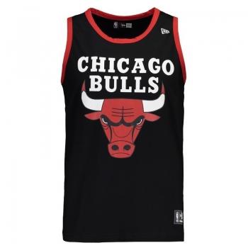Regata New Era NBA Chicago Bulls Preta