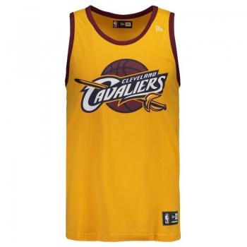 Regata New Era NBA Cleveland Cavaliers Amarela