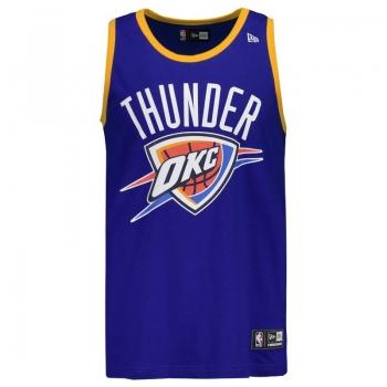 Regata New Era NBA Oklahoma City Thunder Azul