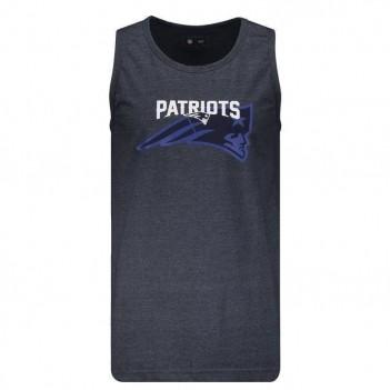 Regata New Era NFL New England Patriots Jeans Mescla