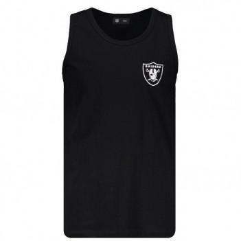 Regata New Era NFL Oakland Raiders Escudo Preta
