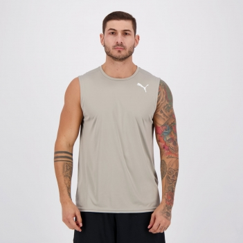 Regata Puma Essentials Sleeveless Cinza