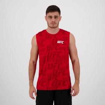 Regata UFC Full Print Vermelha
