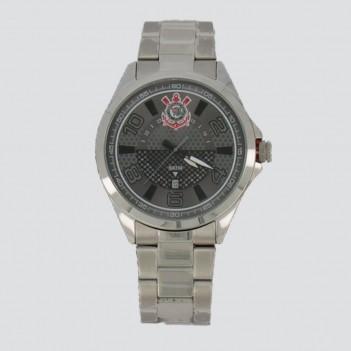 Relógio Technos Escudo Corinthians Prata