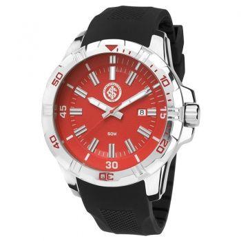 Relógio Technos Internacional Preto e Vermelho
