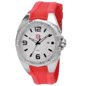 Relógio Technos Internacional Vermelho