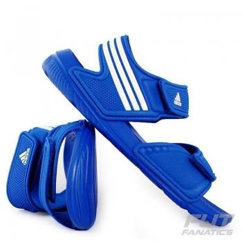 Sandália Adidas Akwah 9 Juvenil Azul