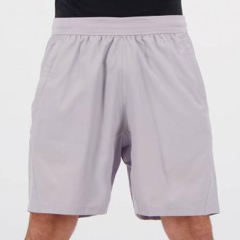 Short Adidas 3-Stripes Cinza