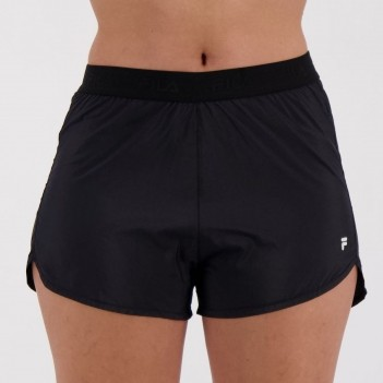 Short Fila Preview II Feminino Preto