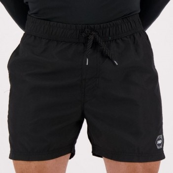 Short HD Volley Preto e Azul