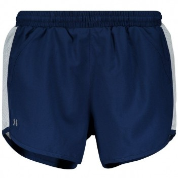 Short Under Armour Fly By Feminino Marinho