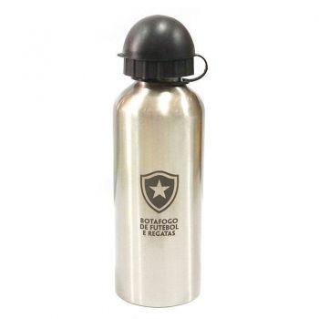 Squeeze Botafogo Escudo 500ml Prata
