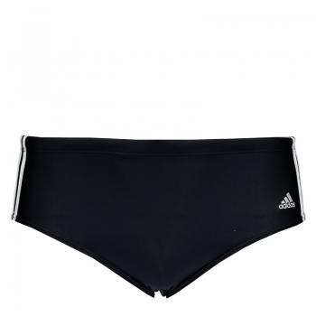Sunga Adidas 3 Stripes Juvenil Preta