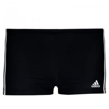 Sunga Boxer Adidas I 3s Preta e Branca