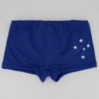 Sunga Boxer Cruzeiro Essential Juvenil Royal