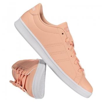 Tênis Adidas Advantage Clean Qt Feminino Salmão